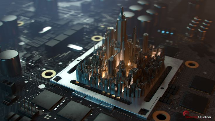 Circuit City by Seung_Ho_Henrik Holmberg | Realistic | 3D | CGSociety