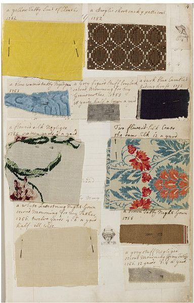 Barbara Johnson Albumm 1746-1823 | V Search the Collections. Her dresses were made from the swatches of fabric that she saved and meticulously recorded.
