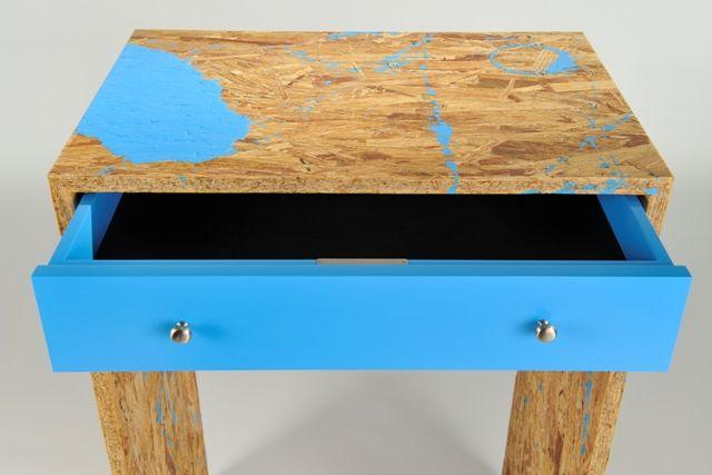 osb high side table 1 furniture pinterest paint tables and side tables. Black Bedroom Furniture Sets. Home Design Ideas