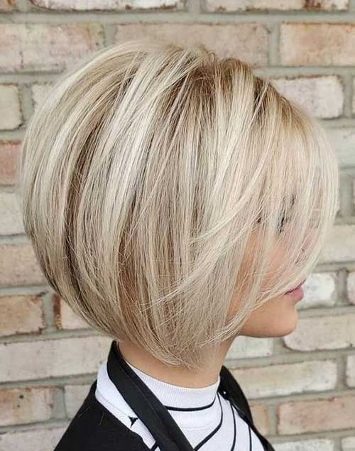 16+ Short Bob Cut für stilvolle Damen 2020 #Haar #Haarschnitt #Stile #Ku ... - #Bobby Cut
