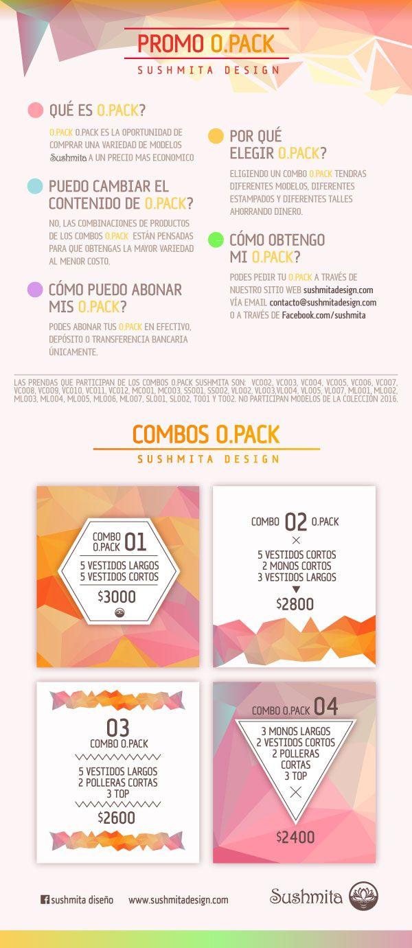 Diseño de promoción y mailing para sushmita design indumentaria femenina