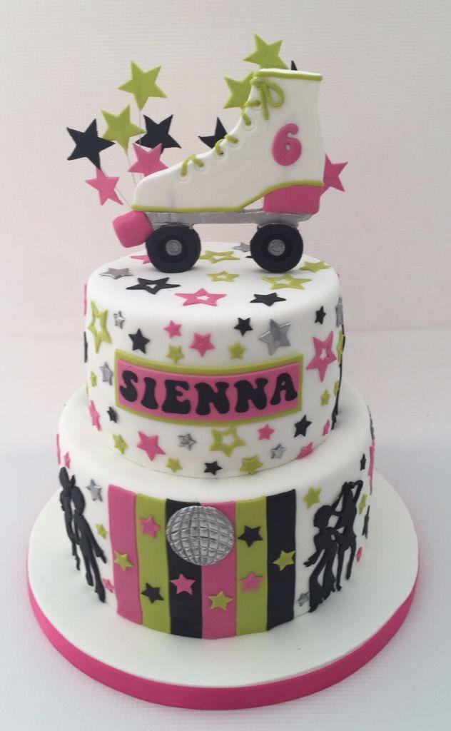 Roller Skate disco cake                                                                                                                                                                                 Más
