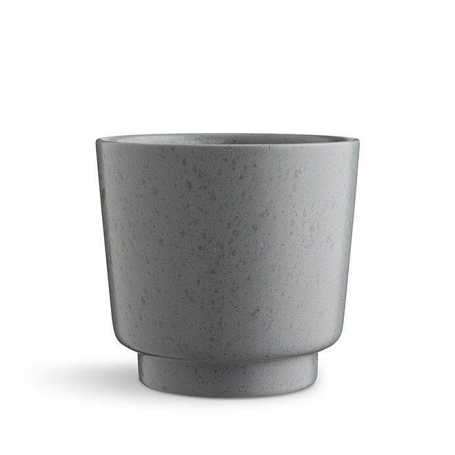Ombria flowerpot large slate grey