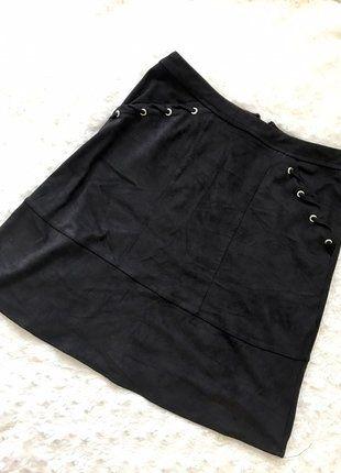 Kup mój przedmiot na #vintedpl http://www.vinted.pl/damska-odziez/spodnice/17482281-piekna-zamszowa-spodnica-z-wyzszym-stanem-george