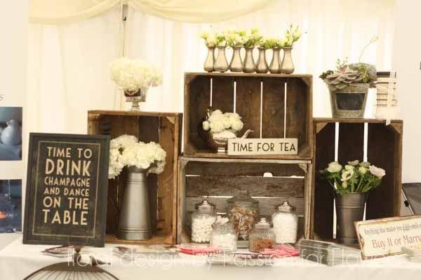 Wroxall Abbey Wedding Fair ~ Marquee Wedding Flower Inspiration
