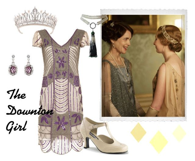 """Downton Abbey Get The Look"" by thcleanelegance on Polyvore featuring Polaroid and Buy Seasons"