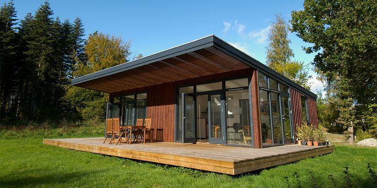 TraumGartenhaus Landhaus design, Holzhaus bausatz, Haus