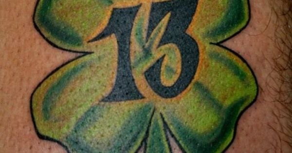 Number 13 Tattoo | Tattoos | Pinterest | 13 tatuaggi, Numero 13 tatuaggi e Numero 13