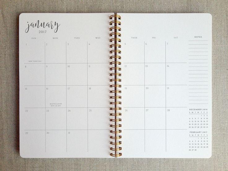 2017 planner | weekly agenda book - Favorite Story