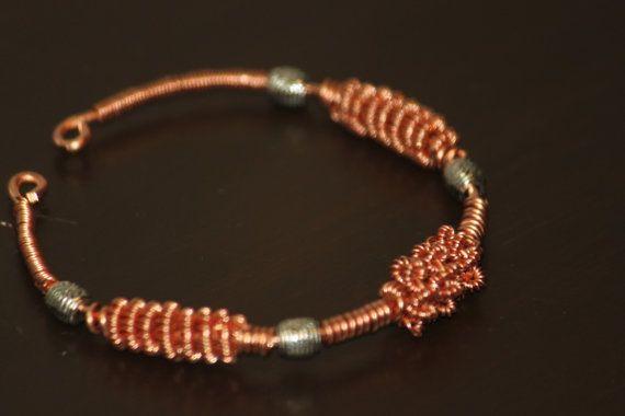 Joyería hecha a mano de pulsera  pulsera de cobre hechos a