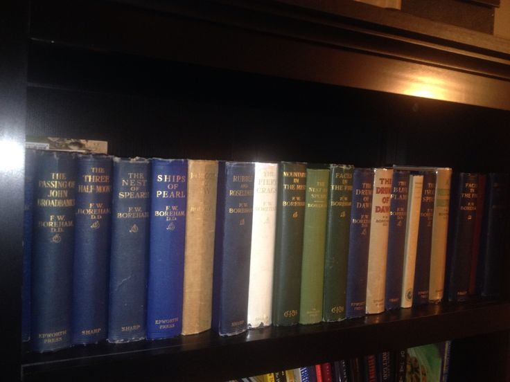 All signed first editions of the brilliant Dr. F.W. Boreham.