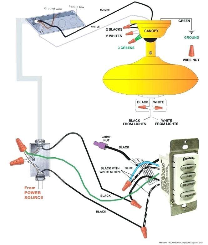 Wiring Diagram For Ceiling Fan With, Casablanca Fan Wiring Diagram
