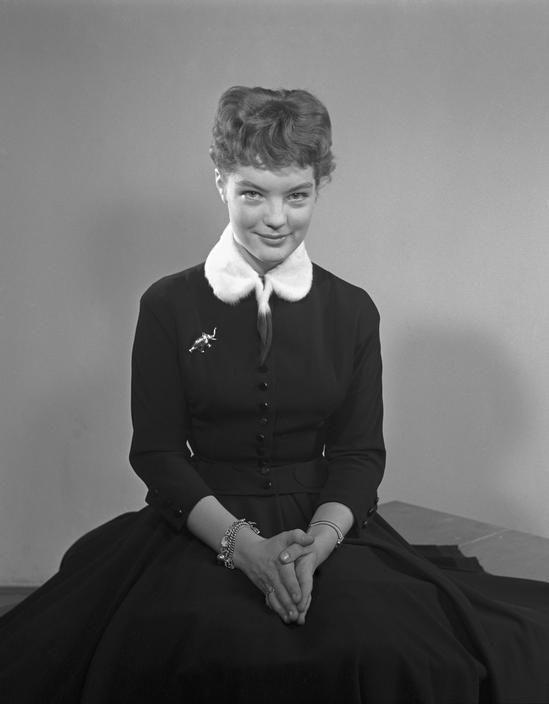 Fotó: Herbert List: A 15 éves Romy Schneider, München, 1954 © Herbert List/Magnum Photos