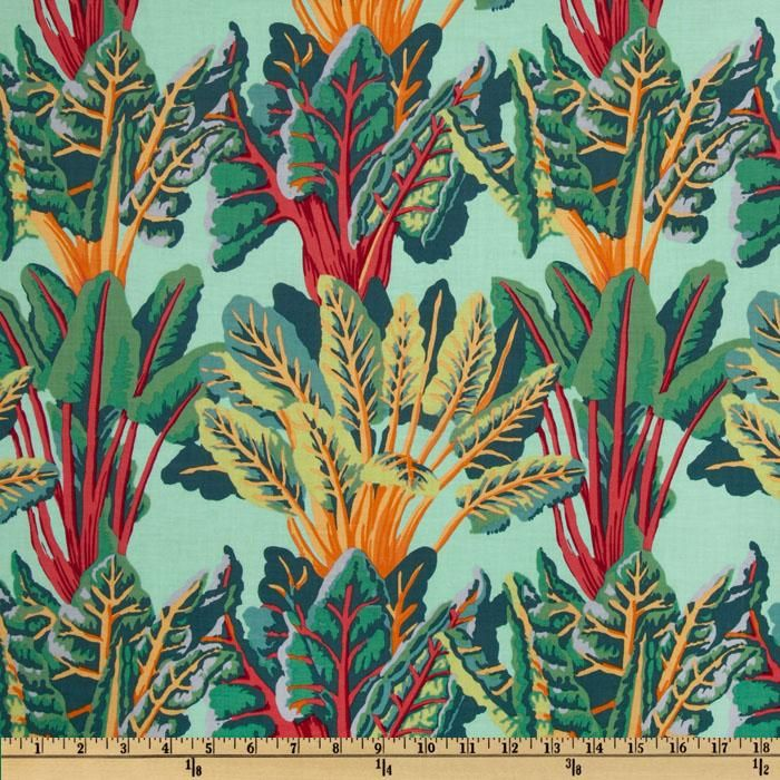 If You Are A Chard Lover, This Fabric Is Perfect For Kitchen Cabinet  Curtains Or