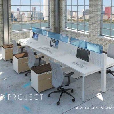 Modular Office Furniture Workstations Cubicles Systems Modern Contemporary New Abso In 2019 Design