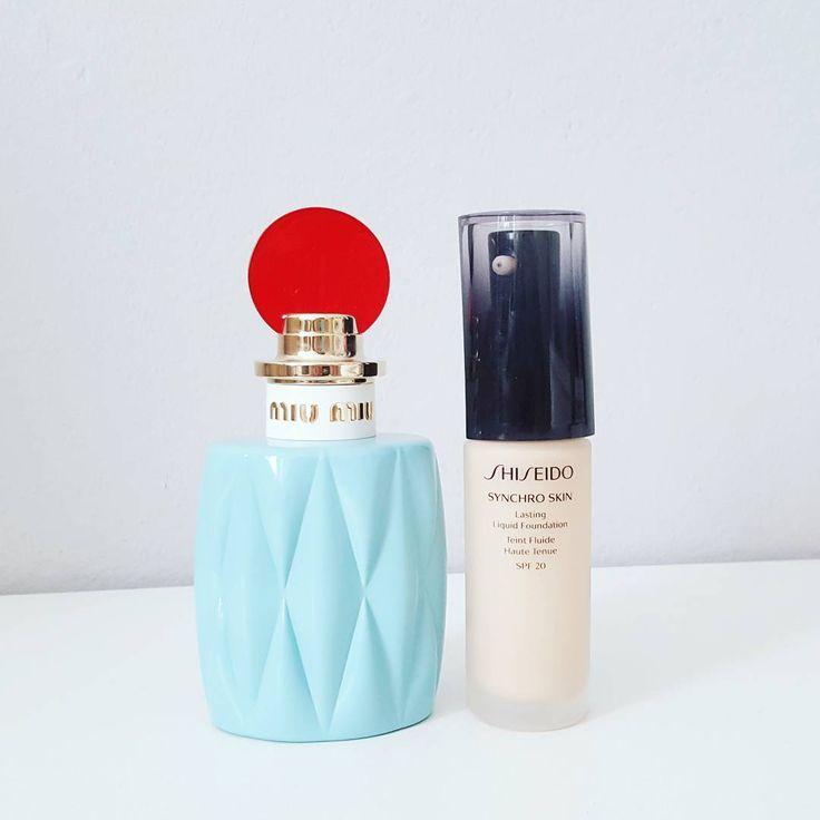 New items by Shiseido and Miu Miu