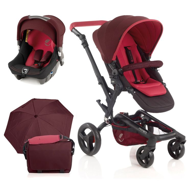 The Jane Rider Strata Travel System features an extremely compact fold action and includes Rider Pushchair and Strata Car Seat. Buy yours in Flame here now!