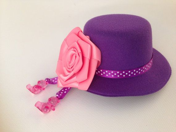 Elegant Royal Hat girls party hat clips to hair hat by HolaLotta