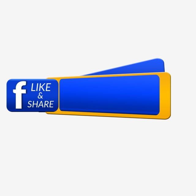 Facebook Share transparent background PNG cliparts free download   HiClipart