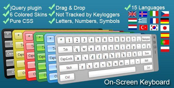 On-Screen Virtual Keyboard