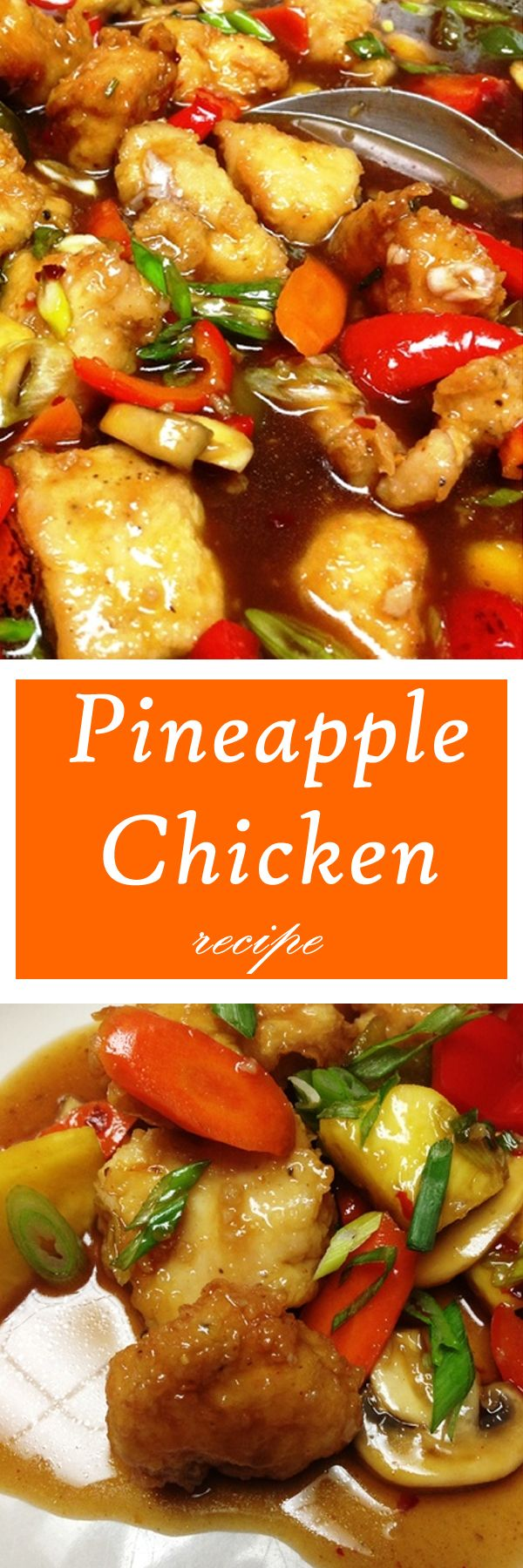 This Pineapple Chicken recipe was a sure hit in our home! Family absolutely loved it. The sauce is so yummy!