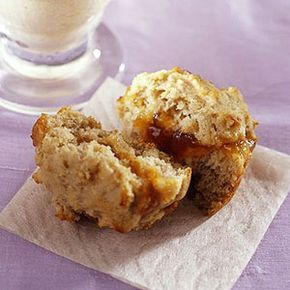 Apricot-Filled Muffins These low calorie, low fat muffins get a boost of protein from soy flour.