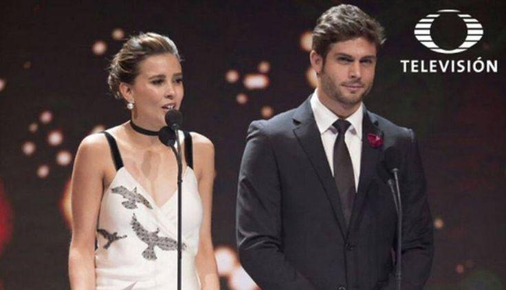 Horacio Pancheri y el regalo de Paulina Goto que no olvidó usar en Premios TVyNovelas