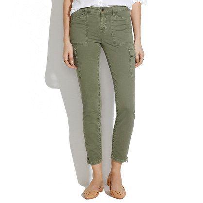 Skinny Skinny Ankle-Zip Cargos - pants - Women's PANTS & SHORTS - Madewell: Ankle Zip Cargos, Cargo Pants Women, Skinny Cargo Pants, Skinny Skinny, Vacation Wardrobe, Clinic Clothes, Skinny Ankle Zip, Closet, Madewell Skinny