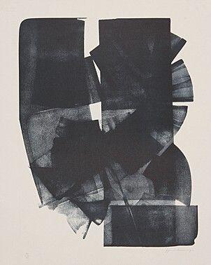 """""""Un monde ignoré vu par Hans Hartung"""" - Hans Hartung - Prints - Original Prints"""