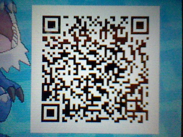 My Shiny Tyrantrum 's Pokemon Ultra Sun / Moon QR Code, Up