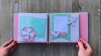 6x6 Mini Scrapbooking Album by Kiwi Lane Designs using Pocket Page Kit - www.kiwilane.com
