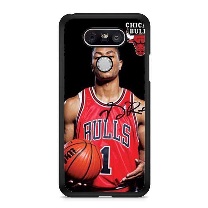 Derrick Rose Blk Bkg LG G6 Case Dewantary