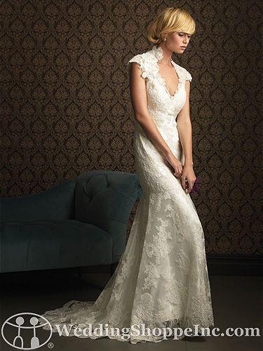 lace wedding dress http://www.weddingshoppeinc.com/pr/Allure-8764/3185/26956