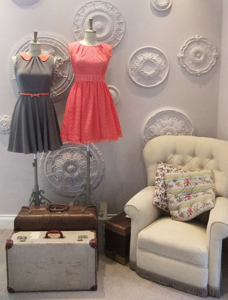 The Ella Dress and Fearne Dress looking lovely in our gorgeous show room!