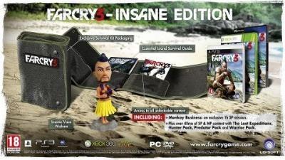 Far Cry 3 Collectors Insane Edition (PS3)