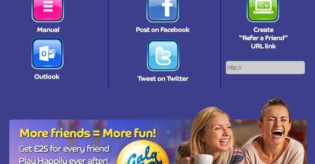 Refer a Friend to Gala Bingo Get £25 Free Bonus