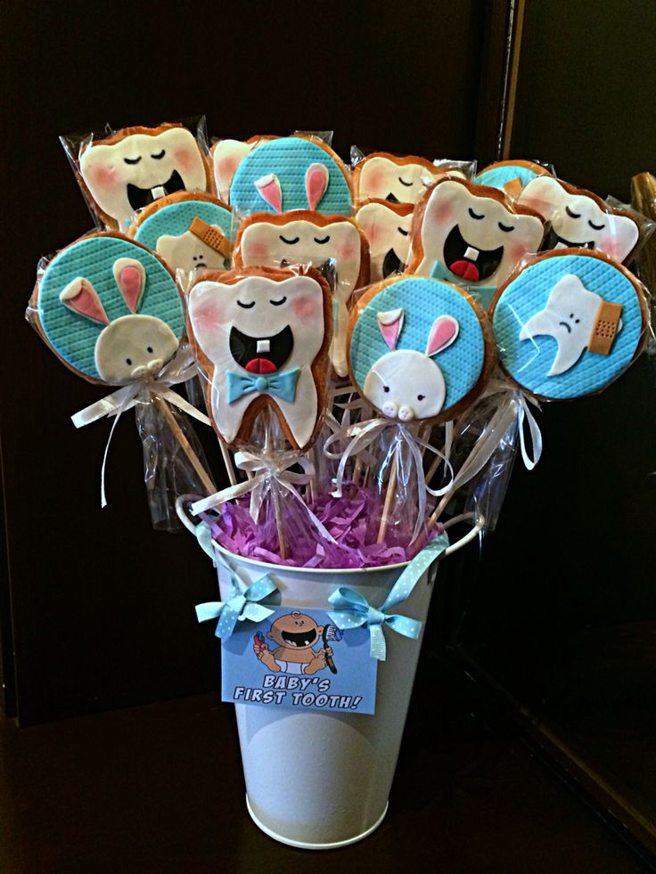 First tooth cookies