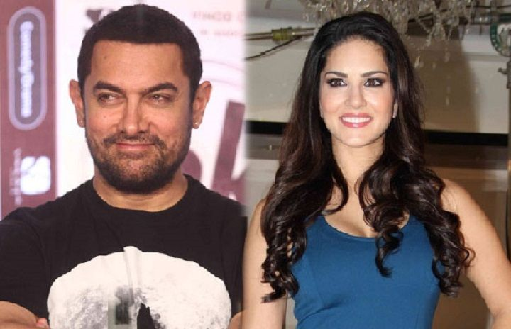 Know what did Sunny Leone said after getting Aamir Khan's support