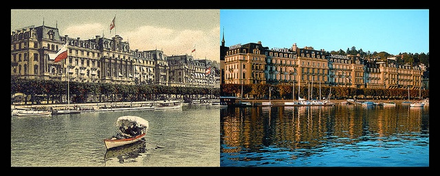 Now & Then (1870) - Grand Hotel National, Lucerne, Switzerland: Photos, Lucerne Switzerland, Grand Hotels, Hotels National