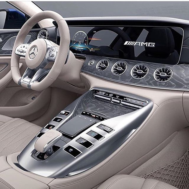 MB AMG GT Interior @mercedes________benz