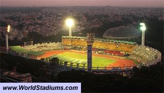 World Stadiums - Sree Kanteerava Stadium in Bangalore