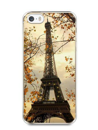 Capa Iphone 5/S Torre Eiffel #1