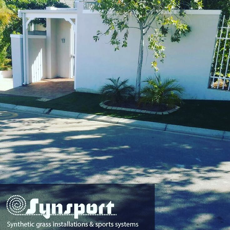 A Synsport Installation : 222sqm full base work at Prestige in Fresnaye.  SWITCH TO AN ARTIFICIAL GRASS LAWN – SOFT, SAFE AND LOOKS JUST LIKE REAL GRASS! #syntheticlawn #savewater #synsport #syntheticgrass #southafrica #capetown #sportsurface #lawn #home #installation #Fresnaye