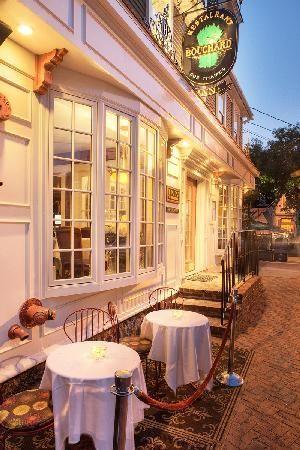 Restaurant Bouchard: rated #1 in Newport. Gourmet/European. $$$$.