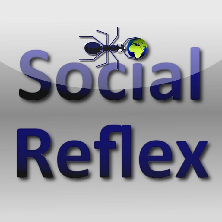 SocialReflex logo fourmis #lettré