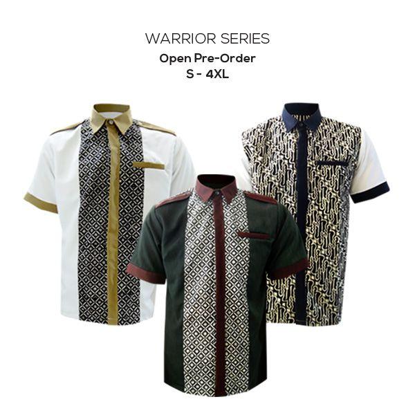 Warrior Series  Open PreOrsder S-4XL Free shipping* Plus Discount 10% for ready atock :)  #kemejabatikmedogh #kemejabatik #batikpria #batikcap #batikyogyakarta  http://medogh.com/baju-batik-pria/kemeja-batik-priahttp://medogh.com/baju-batik-pria/kemeja-batik-pria