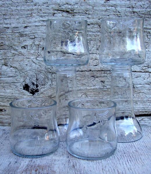 Brutal Fruit sherry glasses and snack bowls