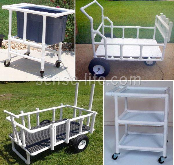 Pool side cooler/bucket on wheels