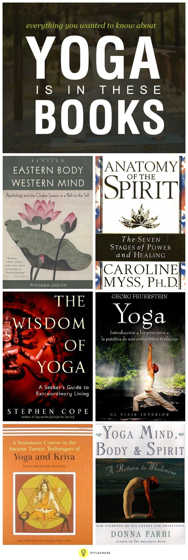 Are you looking forward to know the vast range of yoga techniques that can profoundly benefit you, there are certain yoga books you can ...
