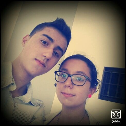 With my ❤❤❤❤ sistet